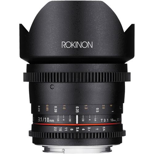 Rokinon 10mm T3.1 Cine Lens for Nikon F Mount