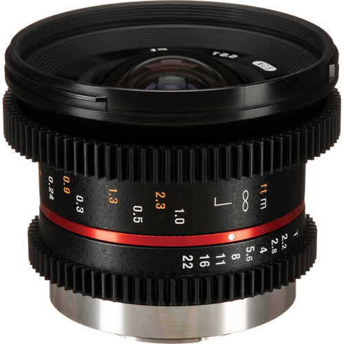 Rokinon 12mm T2.2 Cine Lens for Micro Four Thirds Mount