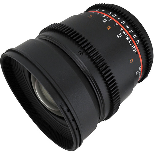 Rokinon 16mm T2.2 Cine Lens for Sony E