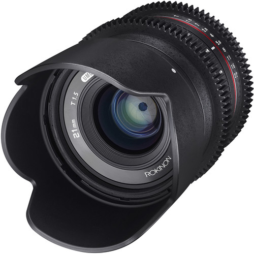 Rokinon 21mm T1.5 Compact High-Speed Cine Lens for Micro Four Thirds