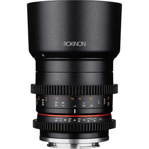 Rokinon 35mm T1.3 Compact High-Speed Cine Lens for Sony E