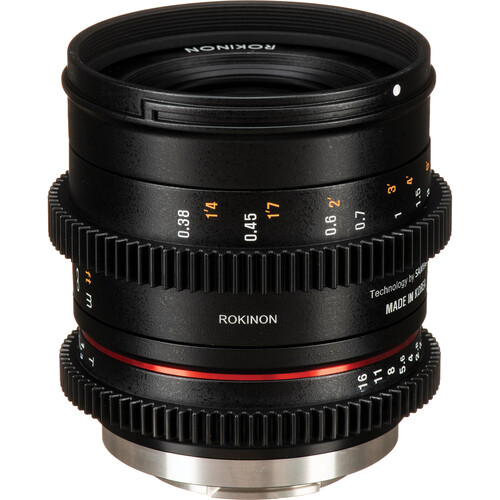 Rokinon 35mm T1.3 Compact High-Speed Cine Lens (X-Mount)