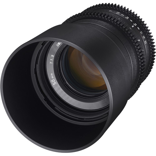 Rokinon 50mm T1.3 Compact High-Speed Cine Lens for Canon EF-M