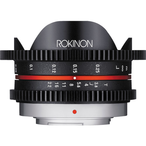 Rokinon 7.5mm T3.8 Cine UMC Fisheye Lens for Micro Four Thirds Mount