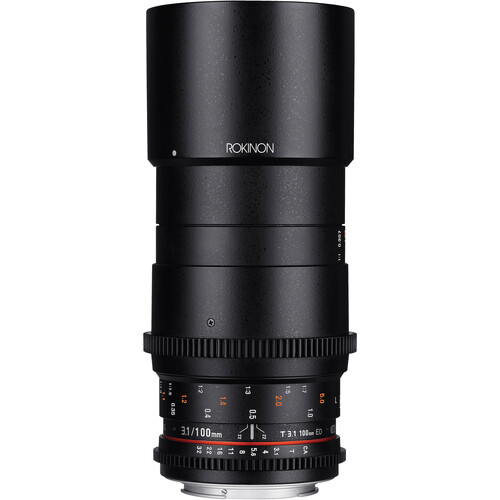 Rokinon 100mm T3.1 Macro Cine DS Lens for Canon EF Mount