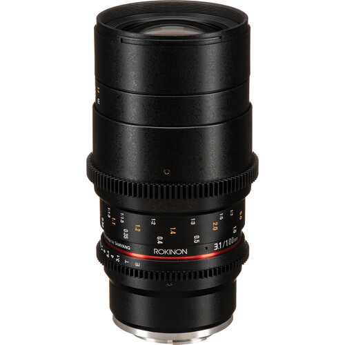Rokinon 100mm T3.1 Macro Cine DS Lens for Sony E-Mount