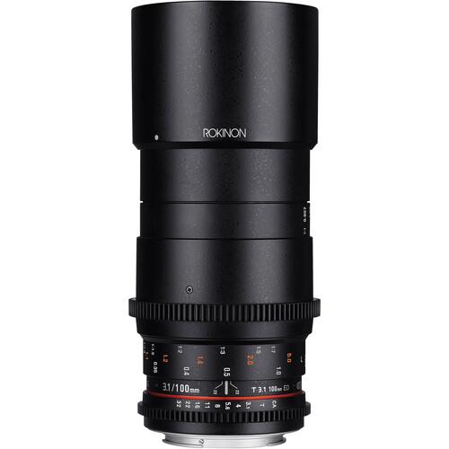 Rokinon 100mm T3.1 Macro Cine DS Lens for Sony Alpha Mount