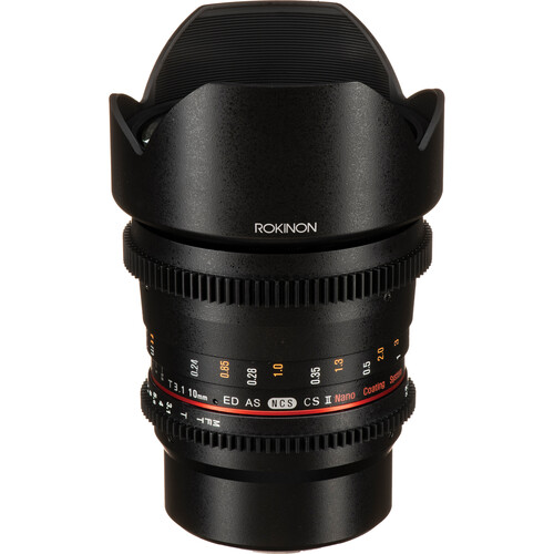 Rokinon 10mm T3.1 Cine DS Lens with MFT Mount for APS-C