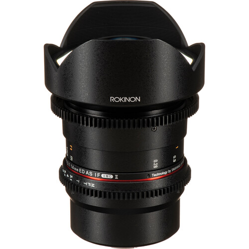 Rokinon 14mm T3.1 Cine DS Lens for Micro Four Thirds Mount