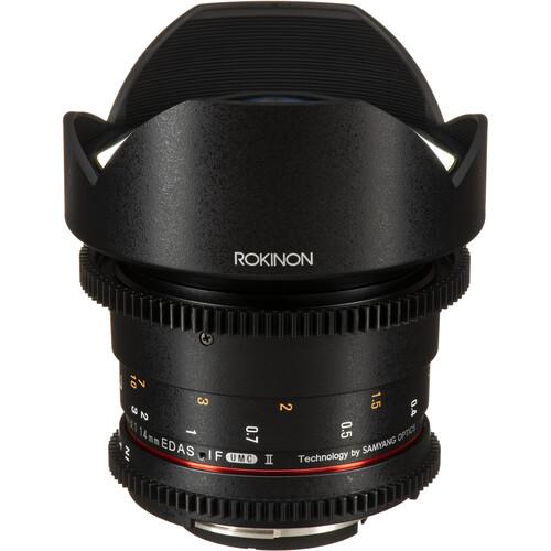 Rokinon 14mm T3.1 Cine DS Lens for Nikon F Mount