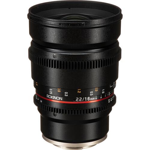 Rokinon 16mm T2.2 Cine DS Lens for Sony E Mount for APS-C