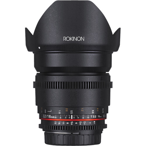 Rokinon 16mm T2.2 Cine DS Lens for Sony Alpha Mount for APS-C