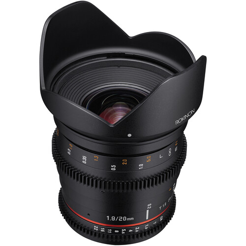 Rokinon 20mm T1.9 Cine DS Lens for Micro Four Thirds