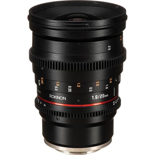 Rokinon 20mm T1.9 Cine DS Lens for Sony E