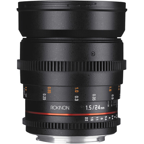 Rokinon 24mm T1.5 Cine DS Lens for Sony Alpha Mount