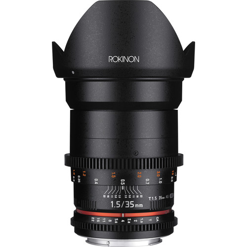 Rokinon 35mm T1.5 Cine DS Lens for Canon EF Mount