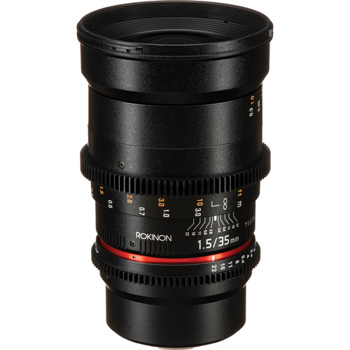 Rokinon 35mm T1.5 Cine DS Lens for Micro Four Thirds Mount