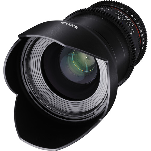 Rokinon 35mm T1.5 Cine DS Lens for Sony Alpha Mount