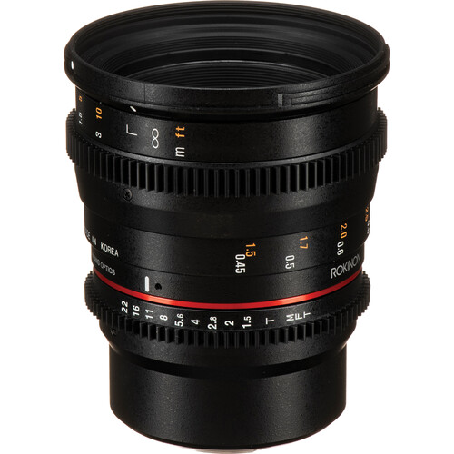 Rokinon 50mm T1.5 AS UMC Cine DS Lens for Micro Four Thirds