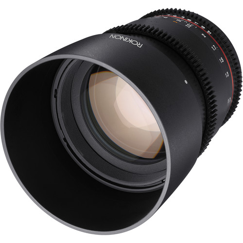 Rokinon 85mm T1.5 Cine DS Lens for Sony Alpha Mount
