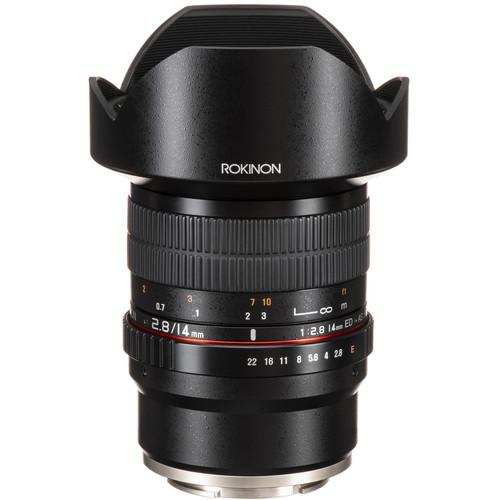 Rokinon 14mm f/2.8 ED AS IF UMC Lens for Sony E-Mount
