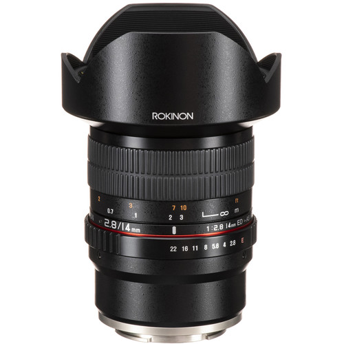 Rokinon 14mm f/2.8 ED AS IF UMC Lens for Sony E-Mount