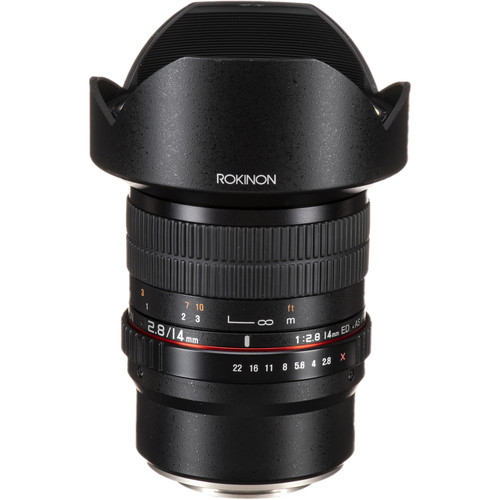 Rokinon 14mm f/2.8 ED AS IF UMC Lens for Fujifilm X Mount