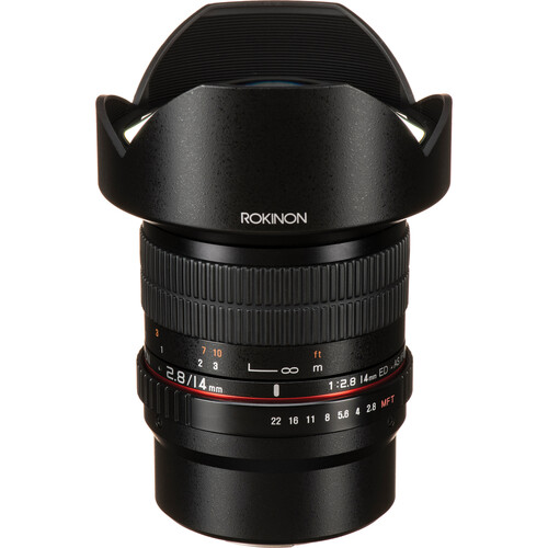 Rokinon 14mm f/2.8 ED AS IF UMC Lens for Micro Four Thirds Mount