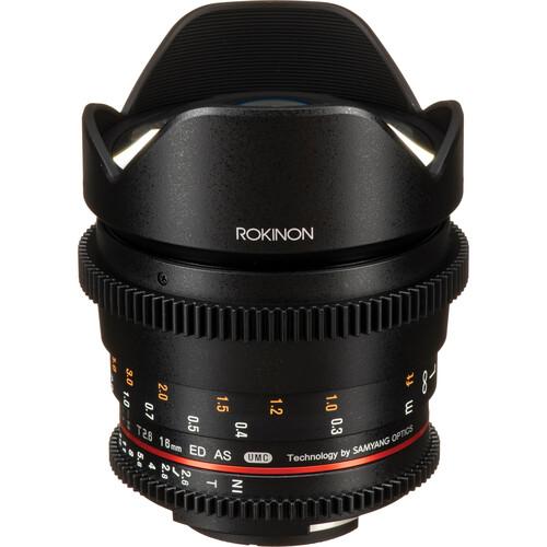 Rokinon 16mm T2.6 Full Frame Cine DS Lens (Nikon F Mount)