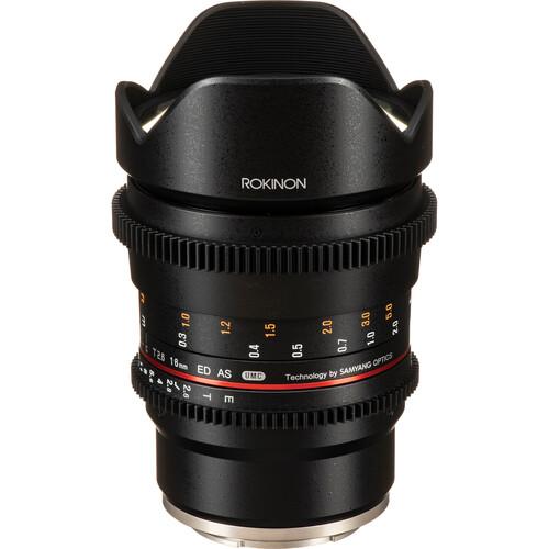 Rokinon 16mm T2.6 Full Frame Cine DS Lens (Sony E Mount)