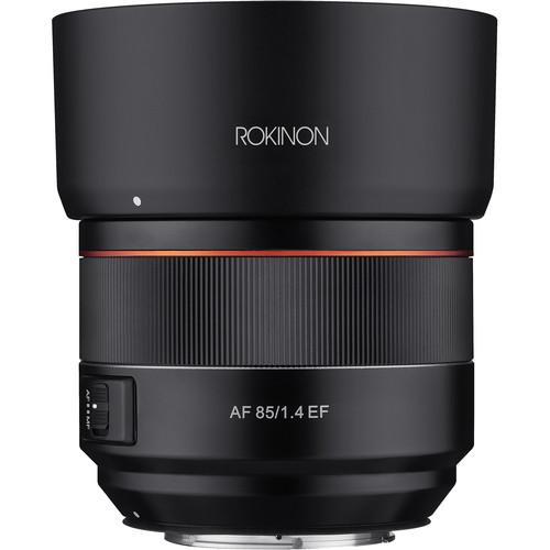 Rokinon AF 85mm f/1.4 EF Lens for Canon EF