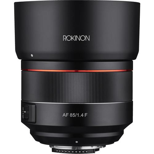 Rokinon 85mm f/1.4 AF Lens for Nikon F
