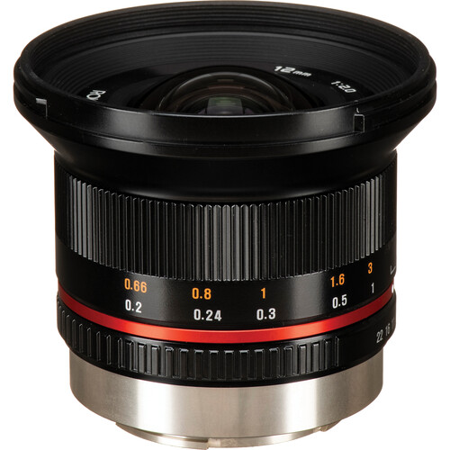 Rokinon 12mm f/2.0 NCS CS Lens for Fujifilm X Mount (Black)