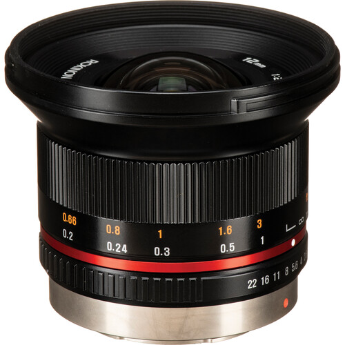 Rokinon 12mm f/2.0 NCS CS Lens for Micro Four Thirds Mount (Black)