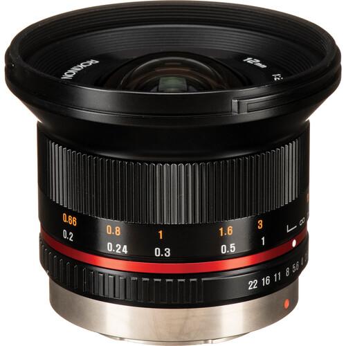 Rokinon 12mm f/2.0 NCS CS Lens for Micro Four Thirds Mount (Black)