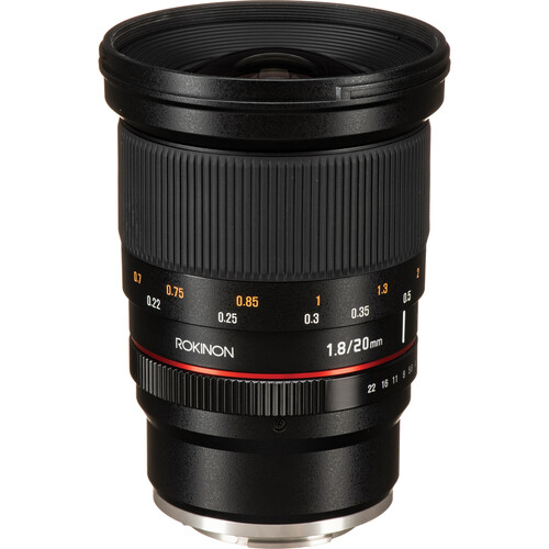 Rokinon 20mm f/1.8 ED AS UMC Lens for Sony E