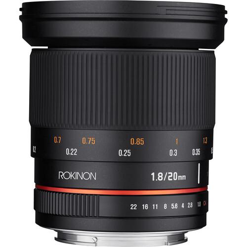 Rokinon 20mm f/1.8 ED AS UMC Lens for Micro Four Thirds