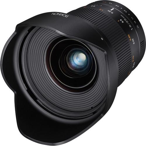 Rokinon 20mm f/1.8 ED AS UMC Lens for Pentax K