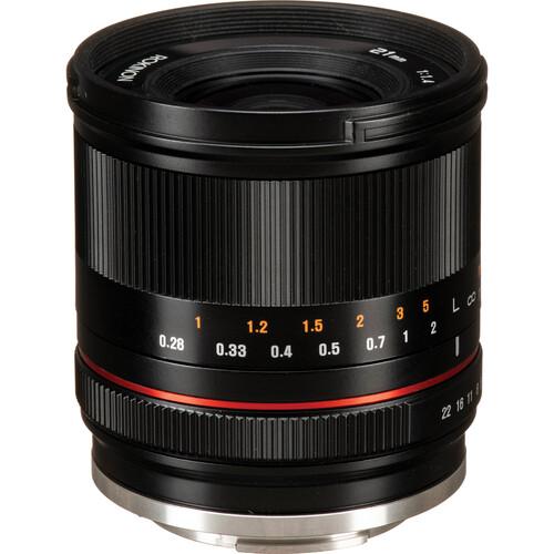 Rokinon 21mm f/1.4 Lens for Sony E (Black)