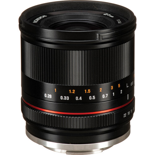 Rokinon 21mm f/1.4 Lens for Sony E (Black)