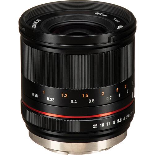 Rokinon 21mm f/1.4 Lens for Fujifilm X (Black)