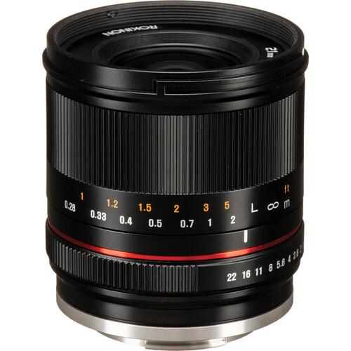 Rokinon 21mm f/1.4 Lens for Canon EF-M (Black)