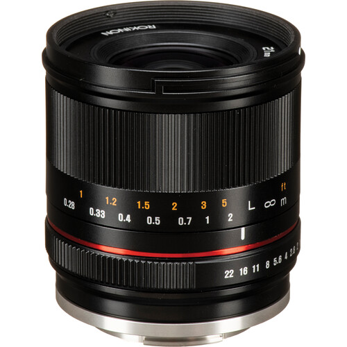 Rokinon 21mm f/1.4 Lens for Canon EF-M (Black)