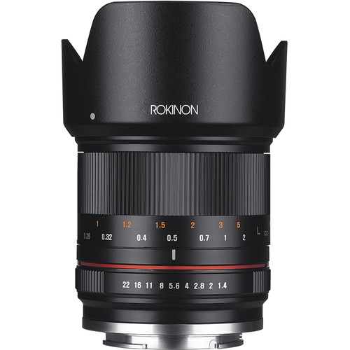 Rokinon 21mm f/1.4 Lens for Micro Four Thirds (Black)