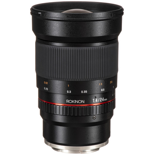 Rokinon 24mm f/1.4 ED AS IF UMC Lens for Sony E Mount