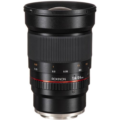 Rokinon 24mm f/1.4 ED AS IF UMC Lens for Sony E Mount
