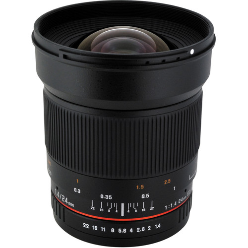 Rokinon 24mm f/1.4 ED AS IF UMC Lens for Fujifilm X Mount