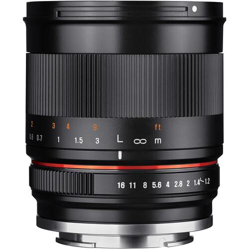 Rokinon 35mm f/1.2 ED AS UMC CS Lens for Canon EF-M (Black)