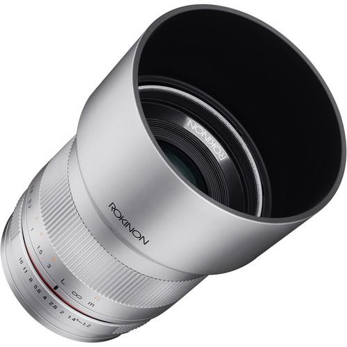 Rokinon 35mm f/1.2 ED AS UMC CS Lens for Micro Four Thirds (Silver)