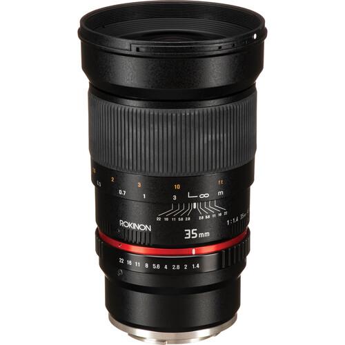 Rokinon 35mm f/1.4 AS UMC Lens for Sony E Mount